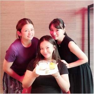 華原朋美の出産直前画像,2019年8月